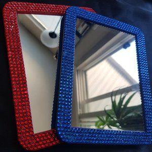 Rhinestone Magnetic Mirrors - $25 Each